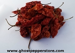 Dried Red Ghost Peppers 4 oz
