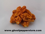 Dried Yellow Fatalii Peppers 4 oz