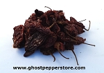 Smoked Red Ghost Peppers 1 Lb