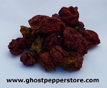 Dried Chocolate Moruga Scorpion Peppers 1 oz