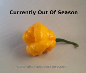 Fresh Yellow Scotch Bonnet 1lb