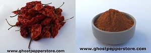 Dried Ghost Pepper/Powder Combo