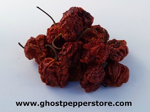 Dried Carolina Reaper Peppers 1 oz
