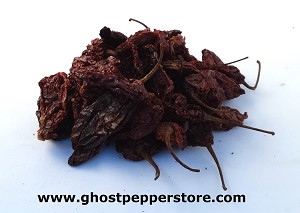 Smoked Red Ghost Peppers 1 oz